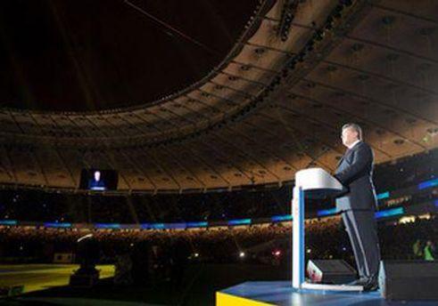 З прямої трансляції момент виходу Януковича вирізали