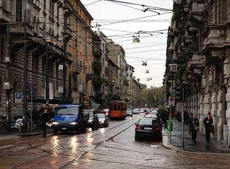 Милан борется с перенасыщенным автомобильным движением
