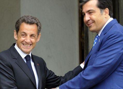 Саркози выразил поддержку Грузии
