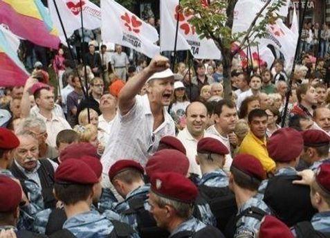 Соратники Тимошенко закликають прийти до Печерського суду