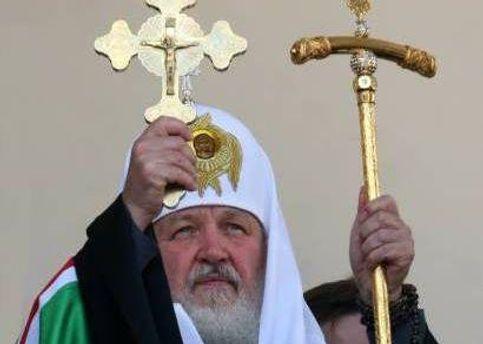 Патріарх Кирило змінив програму через демонстрантів