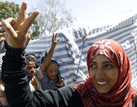 Тавакул Карман готова отдать премию Йемена, если Салех уйдет в отставку