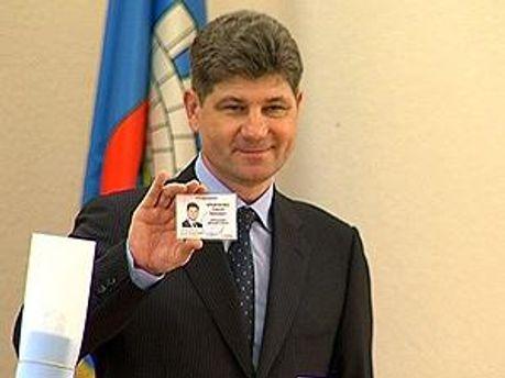 Мер Луганська Сергій Кравченко
