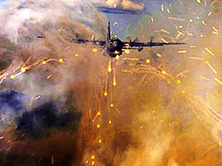 Над Хомсом літають винищувачі