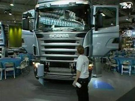 Scania ощутила на себе последствия экономических проблем в Европе