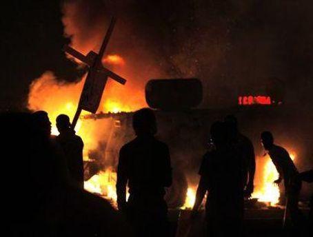 В Египте произошли столкновения на религиозной почве