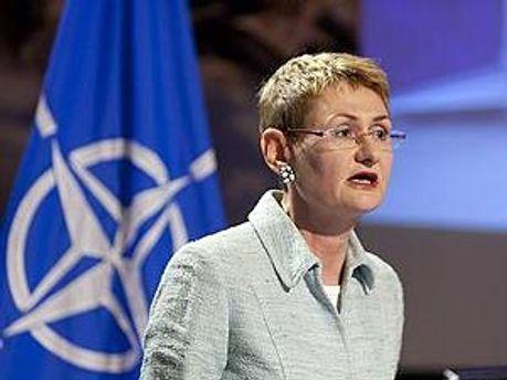 Представитель НАТО Оана Лунгеску