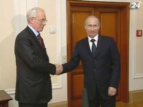 Азаров будет договариваться с Путиным за газ