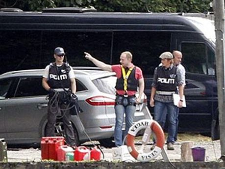 Полиция тщательно осмотрела остров