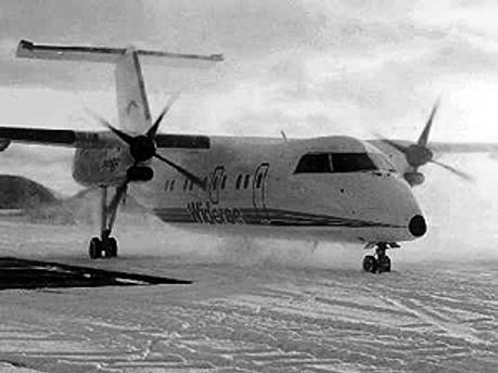 "Літак моделі ""Dash 8"""