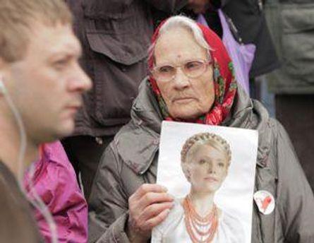 Разница между сторонниками и противниками Тимошенко - 4%