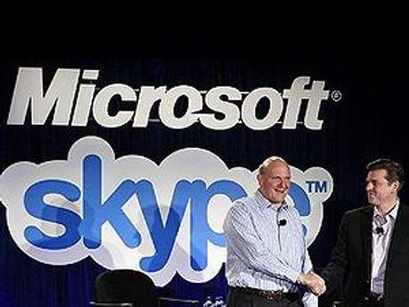 Skype стал частью Microsoft