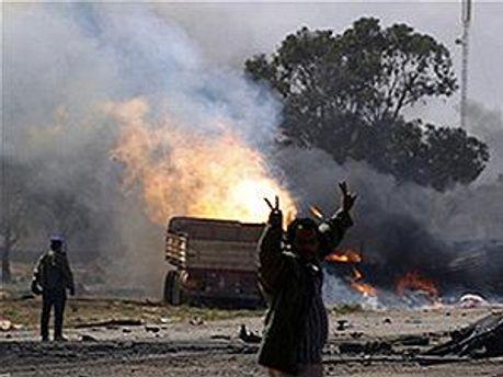 В Триполи возобновились боевые действия