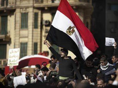 Мусульмане поддерживают коптских христиан