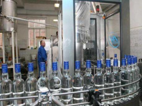 Виробництво горілки знизилось на 22,5%