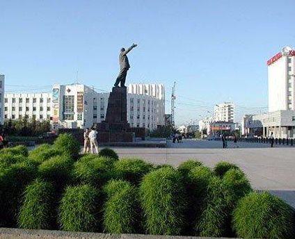 На центральній площі Якутська намагались підтримати Тимошенко