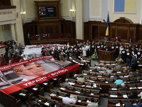 Депутати вимагають розглянути питання про декриміналізацію статті, за якою судили Тимошенко