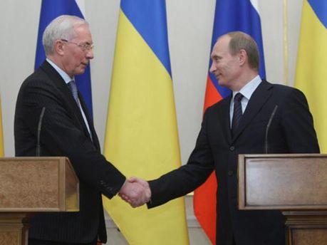 Владимир Путин договорился с Николаем Азаровым