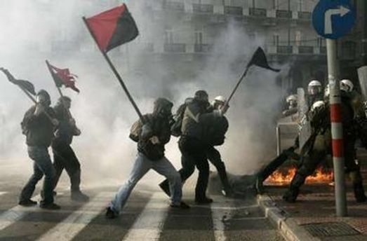 Сутички провокують грецькі анархісти