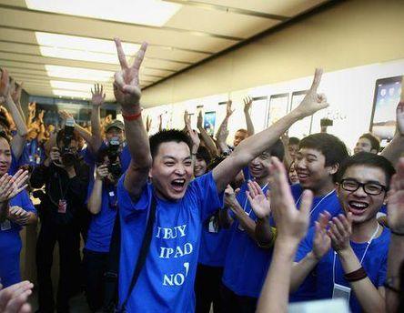 Китайцы любят продукцию Apple