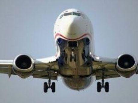 Літак приземлився благополучно