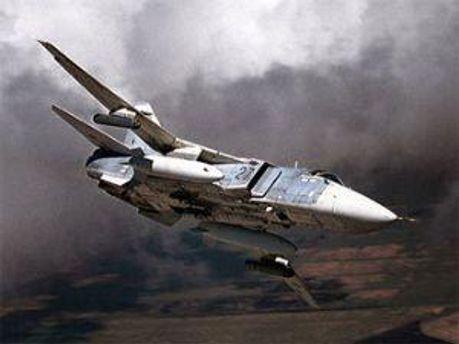 Бомбардувальник Су-24 здійснював переліт Воронеж—Воздвиженка