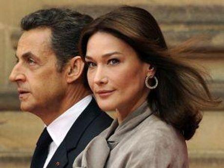 Ніколя Саркозі та Карла Бруні