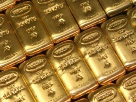 Золото упало в цене
