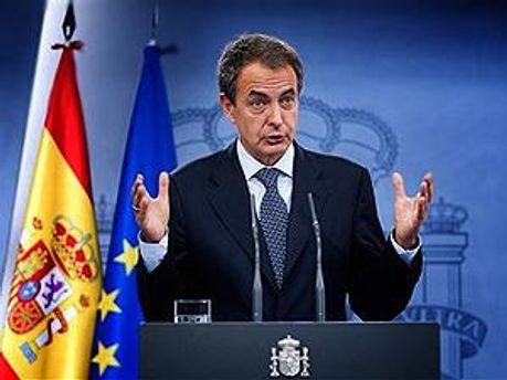 Премьер-министр Испании Хосе Луис Родригес Сапатеро