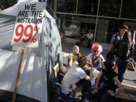 Протестувальники на на вулиці