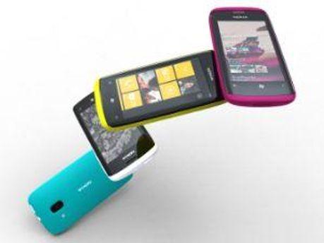 Прототипы смартфонов Nokia на WP7