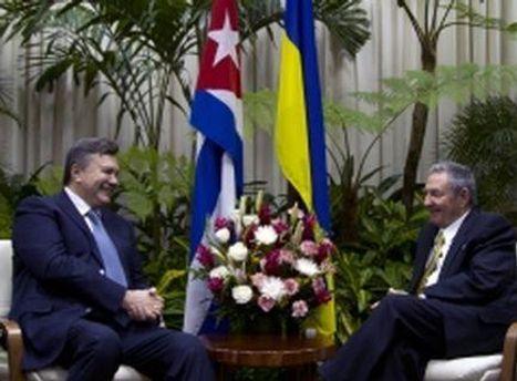 Віктор Янукович провів зустріч із Раулем Кастро