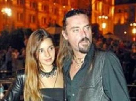 Шон Карр с женой Евгенией
