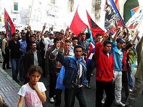 Демонстрация носила мирный характер