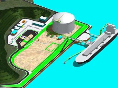 Проект LNG-терминала в Одесской области