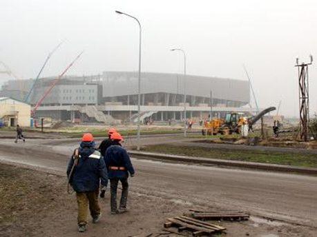 У Львові завершується будівництво євроарени