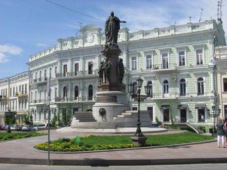 В Одессе уже установили памятник Екатерине II