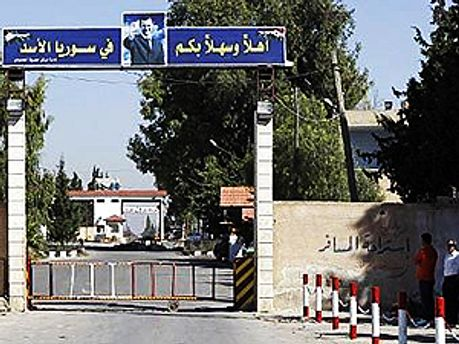 Кордон між Сирією і Ліваном