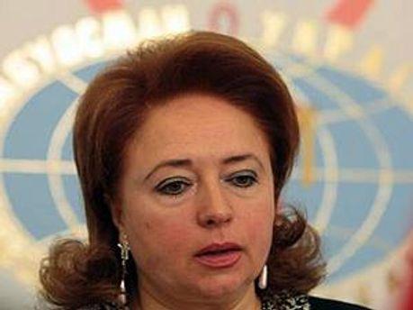 Уповноважена Верховної Ради з прав людини Ніна Карпачова