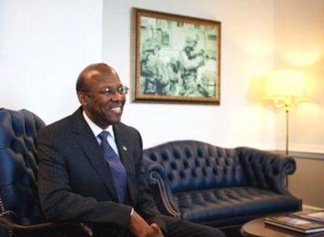 Кліффорд Стенлі у своєму офісі у Пентагоні