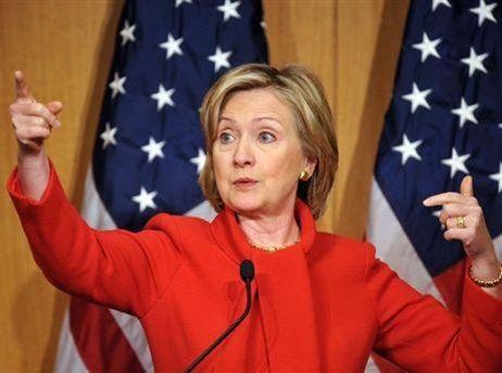 Хиллари Клинтон призывает иранцев искать помощь за рубежом