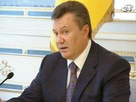 Віктор Янукович вважає найважливішим переспективу підписання Угоди про асоціацію з ЄС