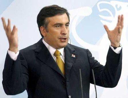 Саакашвили поблагодарил украинскую сторону за укрепление двусторонних отношений