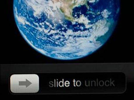 Slide to unlock - запатентованная функция