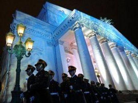 Церемония открытия основной сцены Большого театра