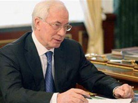 Прем'єр-мiнiстр Микола Азаров