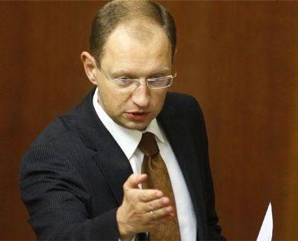 Яценюк: Законопроект можно переписать одним абзацем: