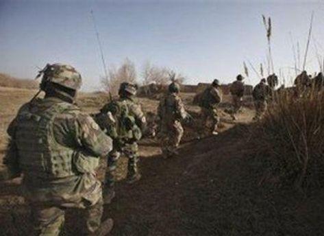 Колонна военных НАТО