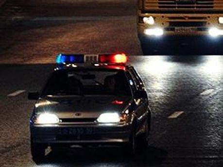 На требования полиции водитель не реагировал
