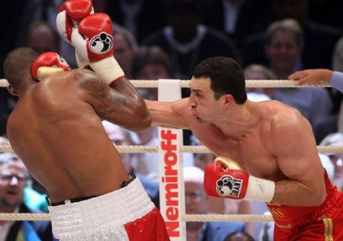 В 2008 Кличко уже побеждал Томпсона